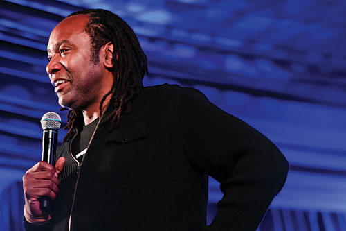 Reginald D Hunter. Photo: Kash Usaf