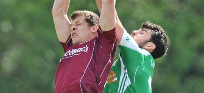 Eddie Hoare, in action against London's Martin Carroll, is expected to play another key role against Sligo on Saturday.