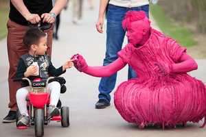 Look out for the pink aliens when The Invasion lands in Galway