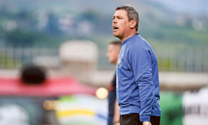 Athlone Town manager Keith Long says he's happy with the Town's win over Limerick. Photo: Sportsfile