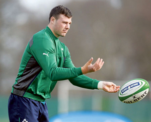 Athlone's Robbie Henshaw is expected to return to action tomorrow. Photo: Sportsfile