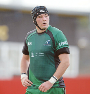 Danny Qualter may play, depending on Connacht commitments