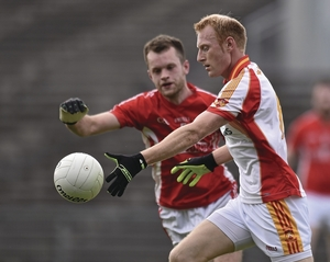 Leading the way: Richie Feeney was one of the main men for Castlebar in their win over Garrymore on Sunday. Photo:Sportsfile
